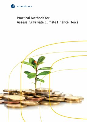 Practical methods for assessing private climate finance flows